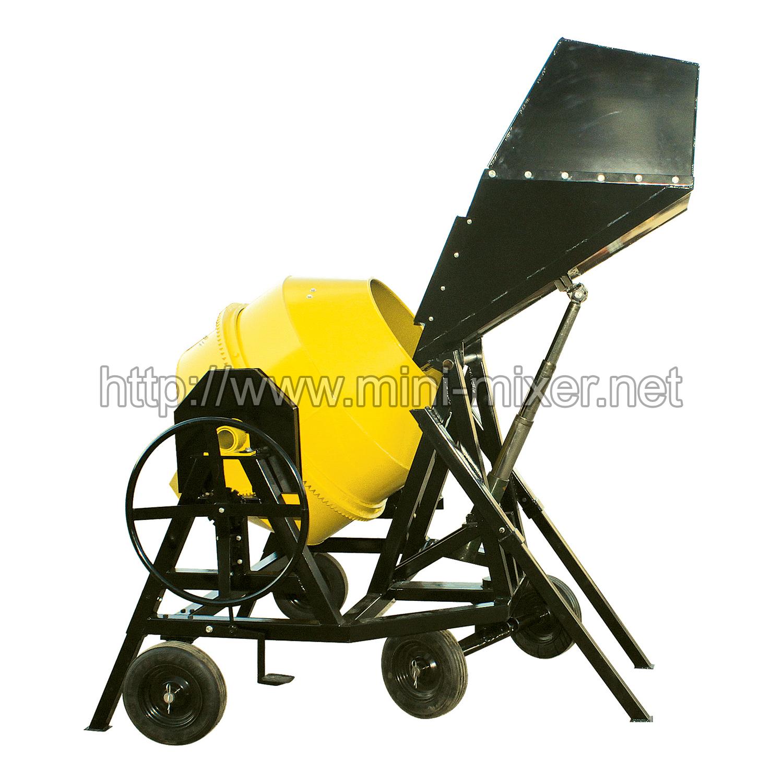 400l 500l Self Loading Concrete Mixer
