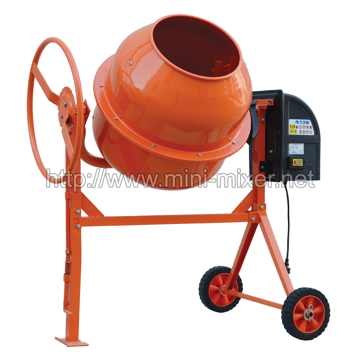 Used Small Cement Mixers : L cement mixer