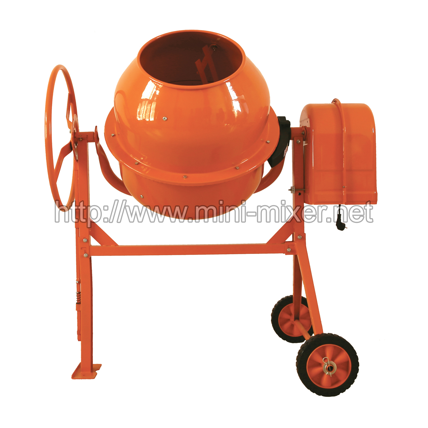 Used Small Cement Mixers : Hcm s l mini electric engine power cement